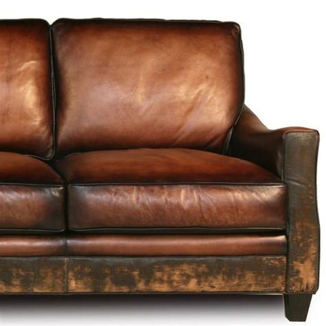 Distressed Leather Sofa Brown by Distressed Handmade Brown Leather Sofa