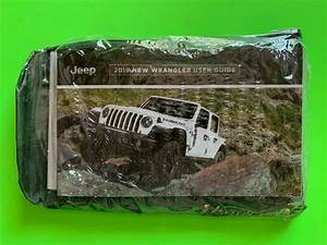 2019 Jeep Wrangler Factory Owners Manual User Guide Set
