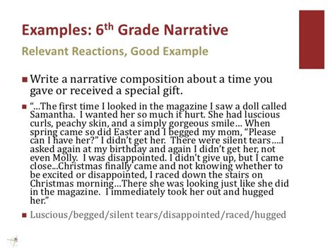 Descriptive Essay Topics For 6th Graders by Writing Prompts 6th Grade Personal Narrative Writing And