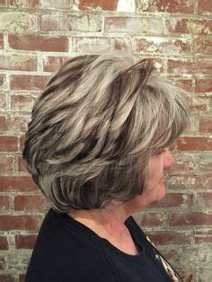 grey hair with highlights and lowlights hair color