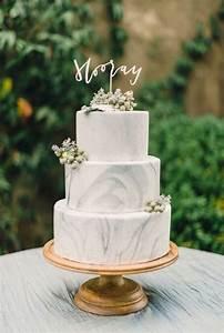 41 Edgy Marble Wedding Cakes
