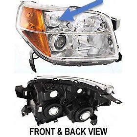 2006 ex l headlight replacement honda pilot honda