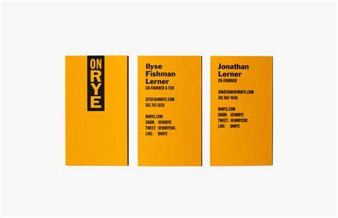 New Logo & Brand Identity For On Rye By Pentagram Business Card Grid Cards Jupiter Fl Template Size Vs Calling Design Free Titles Layout Instagram