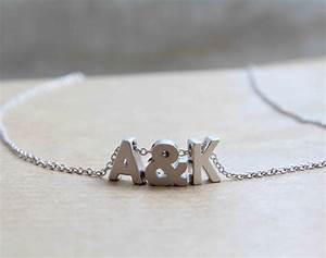 gold plated tiny gold letter necklace initial with With tiny letter necklace