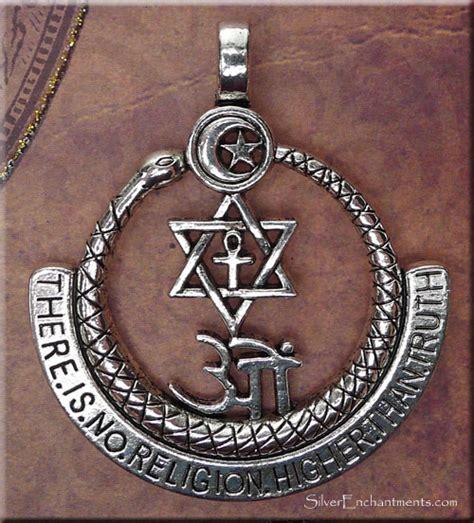 interfaith pendant    religion higher  truth