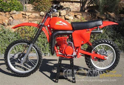 Vintage Motorcross Dirt Bike