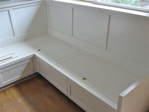 Kitchen Corner Bench With Storage Plans
