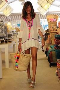 Tenue De Plage Chic : sluiz plage hippy fashion fashion et boho dress ~ Nature-et-papiers.com Idées de Décoration