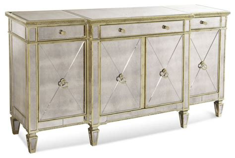 Mirrored Sideboards And Buffets by Borghese Mirrored Buffet Contemporary Buffets And