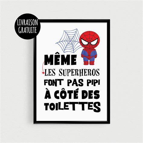 stickers phrase chambre bébé poster héros pour enfant quot même les superhéros font