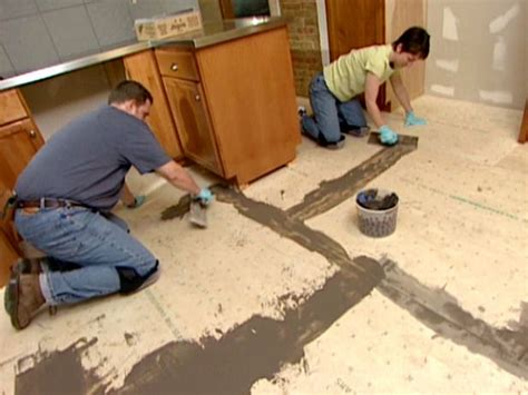 preparing subfloor for tile 17 best images about diy terrazzo flooring on