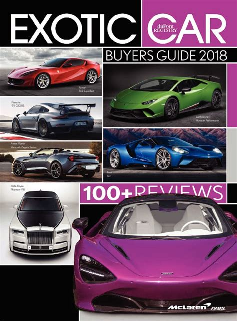 Exotic Car Buyers Guide Magazine (digital) Discountmagscom