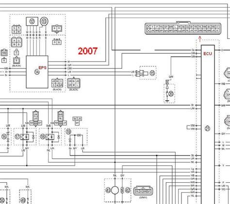 2007 Yamaha Rhino 660 Wiring Diagram by Honda 700 Wiring Diagram Best Diagram For Cars