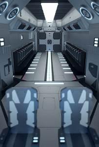 Spaceship Interior Design by MobiusTwo on DeviantArt