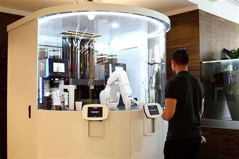 cafe  robot barista  custom coffee