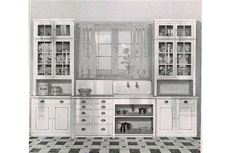 cabinet free kitchen oakview cottage 1920 craftsman kitchens 1913