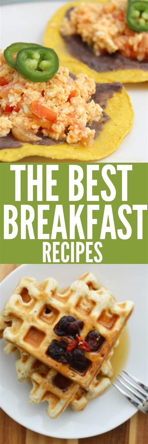 favorite brunch recipes easy to make breakfast recipes from waffles to quinoa porridge