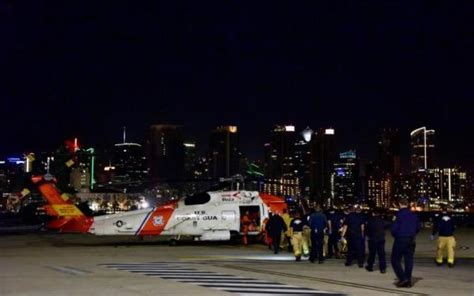 Fire Boat San Diego by Fishing Boat Catches Fire Off Coast Of San Diego 15