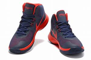 Hot Sale Nike Air Precision 2017 Navy Blue Red Men's ...