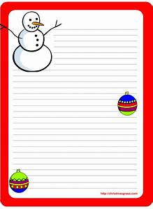 Free printable christmas and holiday stationery for Printable holiday letter paper