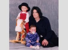 Prince Jackson, Paris Jackson and Michael Jackson