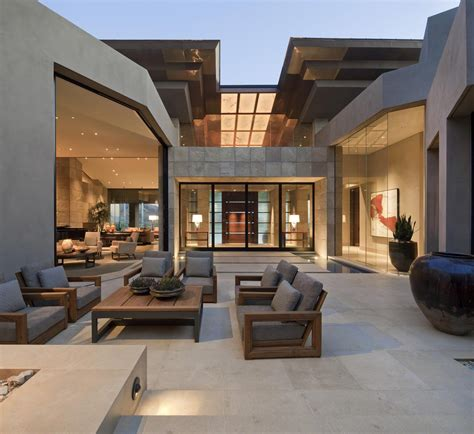 Contemporary Outdoor Living Spaces  David Michael Miller