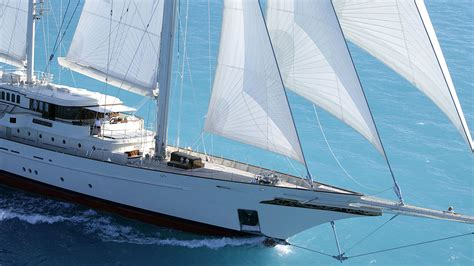 Show Sailing Yacht by Sailing Yacht Athena At The Monaco Yacht Show Finest