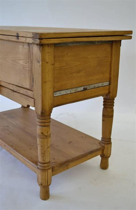 Pine Laundry Table at 1stdibs
