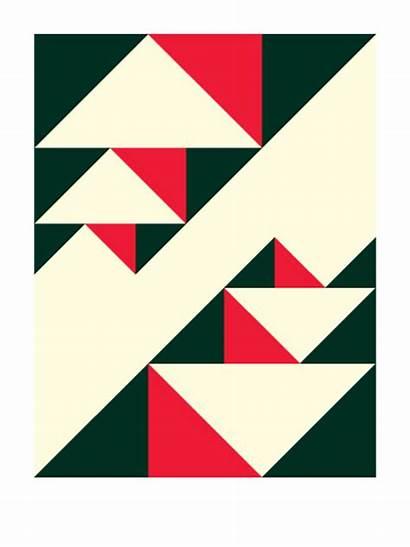 Geometric Designs Simple Motifs Patterns Thrice Shapes