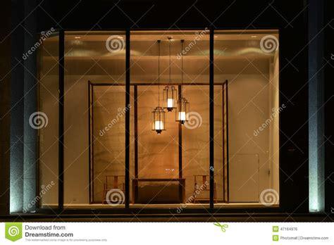home furnishing shop display window  led chandelier