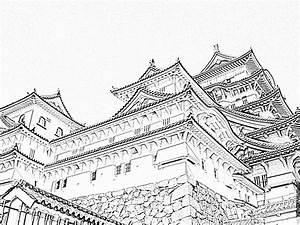 Maison Japonaise Dessin : japonais japon fond d ecran paysage japonais japon himeji japonais ~ Melissatoandfro.com Idées de Décoration
