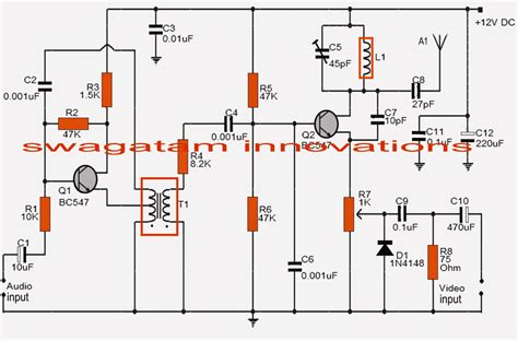Simple Transmitter Circuit Homemade Projects