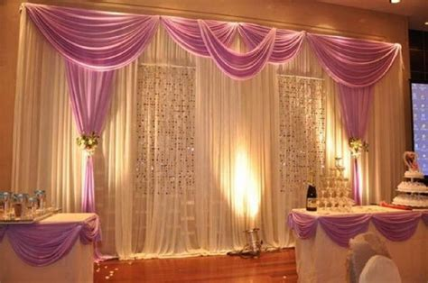 curtain draping ideas wedding pipe and drape curtains diy pipe and drape