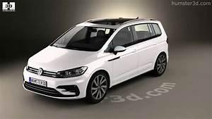 Volkswagen Touran R Line : volkswagen touran r line 2015 3d model by youtube ~ Maxctalentgroup.com Avis de Voitures