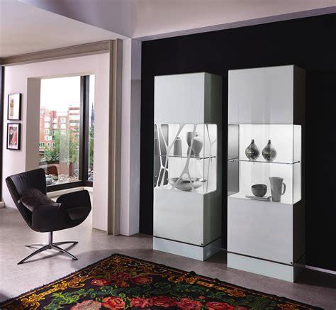 Reizvoll Einrichtung Wohnzimmer by Vitrine In Wei 223 Wohnen Esszimmer Modern Vitrine Wei 223