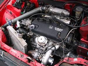 Rebuilt 1991 Honda Prelude Engine