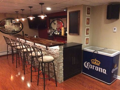 Bar Makeover by A Basement Bar Makeover That You Will Wish You Owned 15