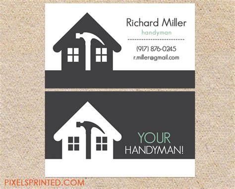 Handyman Business Card Ideas