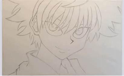 Killua Drawing Zoldyck Happy Anime Birthday