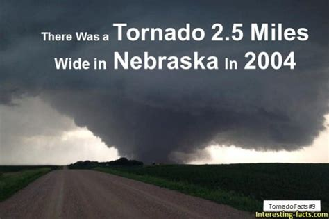 Tornado Facts - 15 True Twister Facts about Tornadoes ...