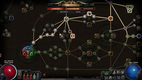 Exles Of Skills And Abilities by Path Of Exile Skill Tree Basics