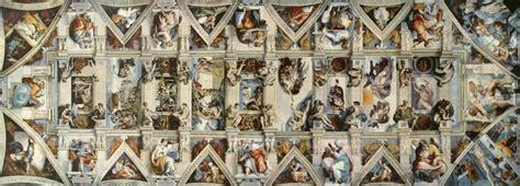 chapelle sixtine michel ange plafond le jean baptiste au b 233 lier de caravage et l ignudo de michel ange paperblog