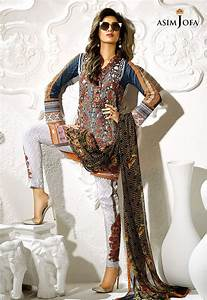 Aplic Design Shirts 2018 Asim Jofa Digital Lawn Summer Dresses Collection 2017 For