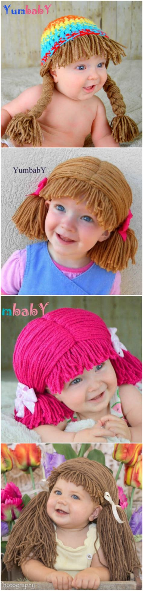 Baby Cabbage Crochet Patch Hat Pattern
