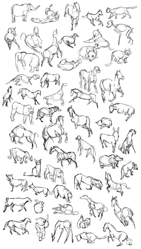 casey hunt gesture drawing tool animals