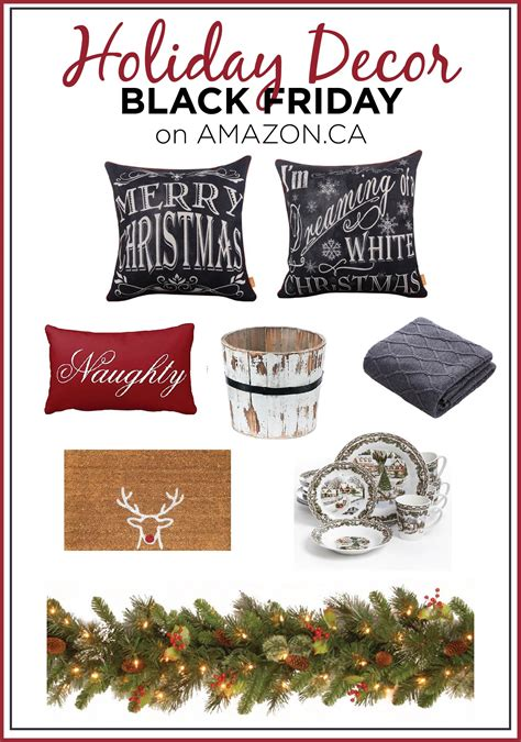 black friday holiday decor deals to start the season off
