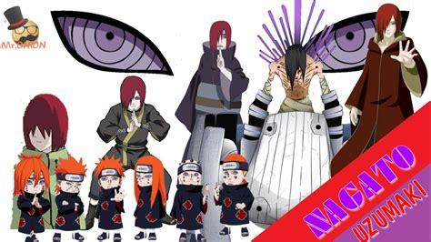 Naruto Characters Uzumaki Nagatos Evolution Youtube