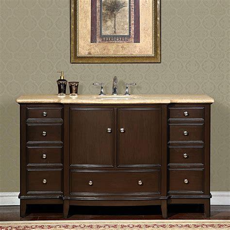 single sink vanity to double sink 60 perfecta pa 6003 bathroom vanity single sink cabinet