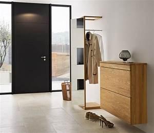 meuble d39entree moderne pour la bonne premiere impression With meuble de rangement hall d entree 6 console entree contemporaine miroir style scandinave bois