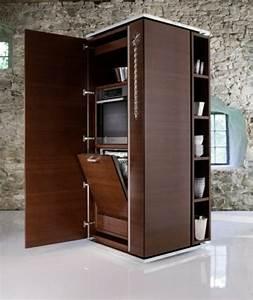 Mini Büro Im Schrank : am nager une petite cuisine 40 id es pour le design magnifique ~ Bigdaddyawards.com Haus und Dekorationen